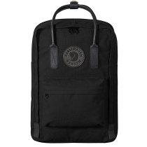 【FJALL RAVEN瑞典小狐貍包 FR23568 No.2 】 Kanken No.2 Black Edition 15吋電腦包